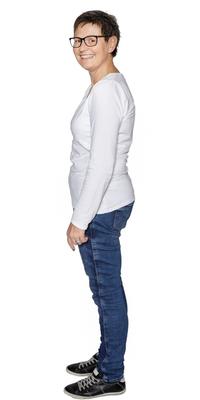 Claudia Kaiser de Oberuzwil après avoir perdu du poids avec ParaMediForm
