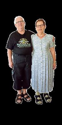 Ruth & Georges  Neuhaus aus Schaffhausen nach dem Abnehmen mit ParaMediForm