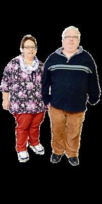Ruth & Georges  Neuhaus aus Schaffhausen vor dem Abnehmen mit ParaMediForm