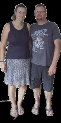 Lothar & Isabella Schmidt aus Wilchingen vor dem Abnehmen mit ParaMediForm