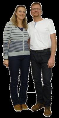 Lothar & Isabella Schmidt aus Wilchingen nach dem Abnehmen mit ParaMediForm