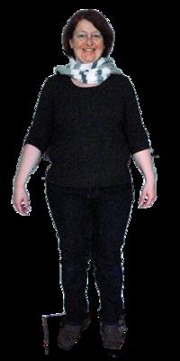 Jacqueline Riester aus Schaffhausen vor dem Abnehmen mit ParaMediForm