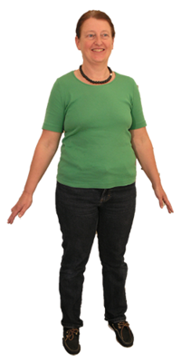 Jacqueline Riester aus Schaffhausen nach dem Abnehmen mit ParaMediForm
