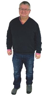 Daniel Buchs de Hornussen avant de perdre du poids avec ParaMediForm