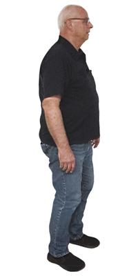 Samuel Brélaz de Fehraltorf avant de perdre du poids avec ParaMediForm