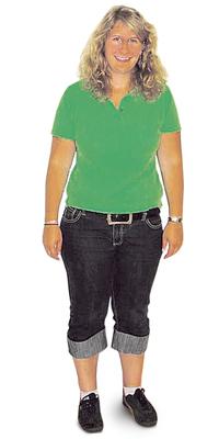 Jennifer Grab aus Marthalen vor dem Abnehmen mit ParaMediForm