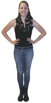 Jasmin Daya de St. Gallen après avoir perdu du poids avec ParaMediForm