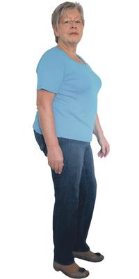 Esther Höhener de Gossau avant de perdre du poids avec ParaMediForm