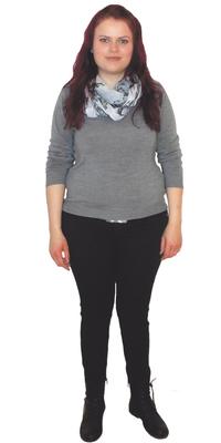 Lea Berger de Gossau avant de perdre du poids avec ParaMediForm
