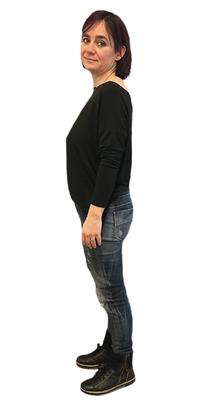 Rachel Diem-Rohrer de St. Gallen après avoir perdu du poids avec ParaMediForm