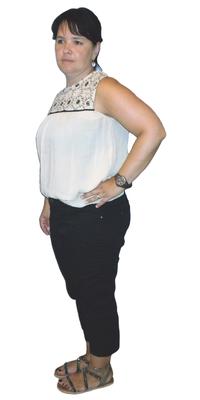 Vera Fatzer de St. Gallen avant de perdre du poids avec ParaMediForm