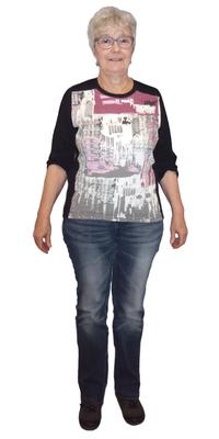 Sonja Rütimann aus Wittenbach vor dem Abnehmen mit ParaMediForm