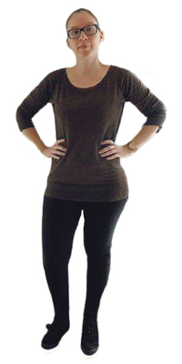 Rivana Koller de Herisau avant de perdre du poids avec ParaMediForm