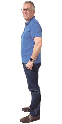 Marcel Schildknecht de Amriswil après avoir perdu du poids avec ParaMediForm