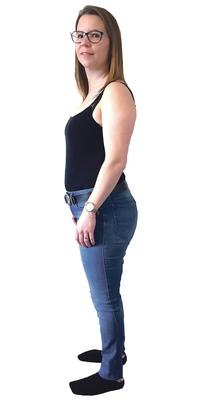 Ramona Baumann de Sitterdorf avant de perdre du poids avec ParaMediForm