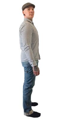 Patrick Freuler de Landschlacht après avoir perdu du poids avec ParaMediForm