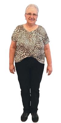 Bernadette Tanner de Berneck après avoir perdu du poids avec ParaMediForm