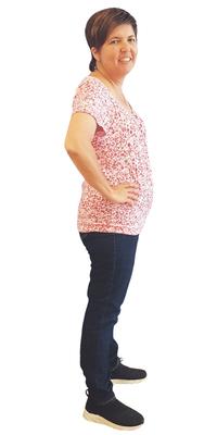 Iris Bouhlal de Speicher après avoir perdu du poids avec ParaMediForm