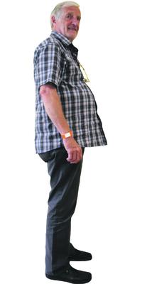 Peter Rissi de Schlieren avant de perdre du poids avec ParaMediForm