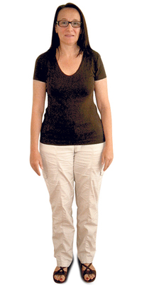 Adriana Toso de Aesch avant de perdre du poids avec ParaMediForm