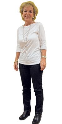 Sonja Beer de Urdorf après avoir perdu du poids avec ParaMediForm