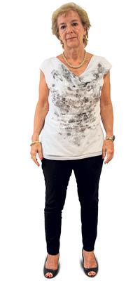 Sonja Beer de Urdorf avant de perdre du poids avec ParaMediForm