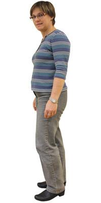 Brigitte Velten de Oberengstringen avant de perdre du poids avec ParaMediForm