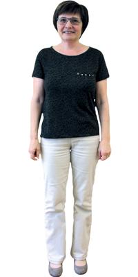 Heidi Seifriz de Schlieren après avoir perdu du poids avec ParaMediForm