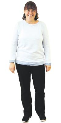 Gabriela Vogel de Urdorf après avoir perdu du poids avec ParaMediForm