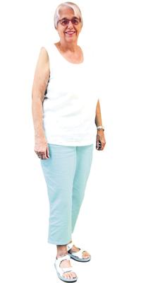 Rosmarie Jucker de Uitikon après avoir perdu du poids avec ParaMediForm