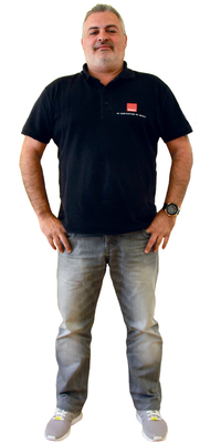 José Mingote de Birmensdorf avant de perdre du poids avec ParaMediForm