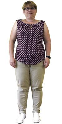 Monika Seiler de Dietikon avant de perdre du poids avec ParaMediForm
