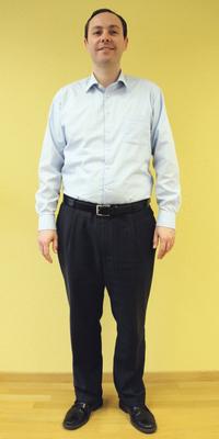 Marc Altorfer de Schlieren après avoir perdu du poids avec ParaMediForm