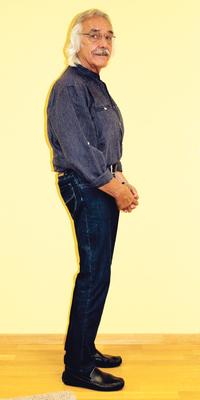 José Bomatter de Uitikon après avoir perdu du poids avec ParaMediForm