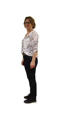 Brigitte Del Bon de Dietikon après avoir perdu du poids avec ParaMediForm