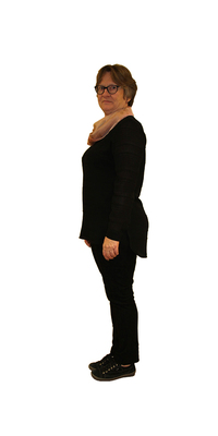Brigitte Del Bon aus Dietikon vor dem Abnehmen mit ParaMediForm