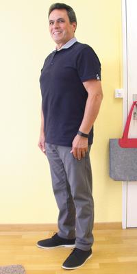 Jose Carneiro de Fahrweid après avoir perdu du poids avec ParaMediForm