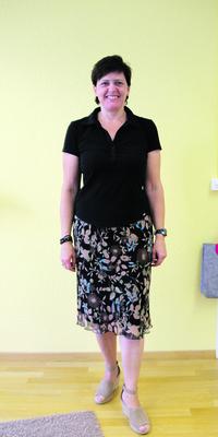 Rita Camenzind de Mellingen après avoir perdu du poids avec ParaMediForm
