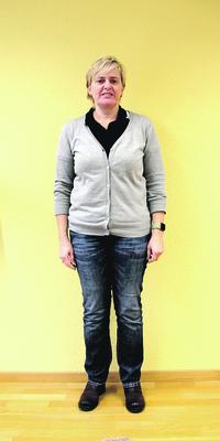 Rita Camenzind aus Mellingen vor dem Abnehmen mit ParaMediForm