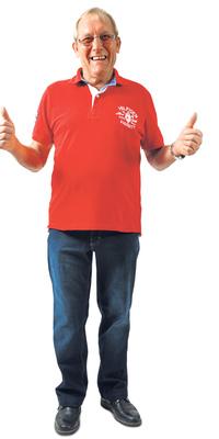 Heinz Fleckner de Hinwil après avoir perdu du poids avec ParaMediForm