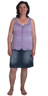 Helga Zak de Adetswil avant de perdre du poids avec ParaMediForm