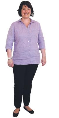 Rebekka Wider de Hinwil avant de perdre du poids avec ParaMediForm