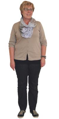 Silvia Schneider de Uster avant de perdre du poids avec ParaMediForm