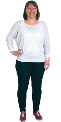 Angela Friebe de Wetzikon avant de perdre du poids avec ParaMediForm