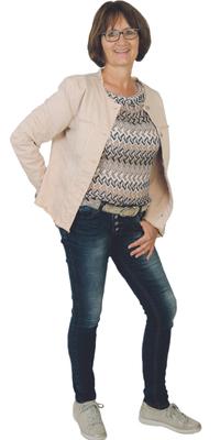 Beatrix Gubser de Hadlikon après avoir perdu du poids avec ParaMediForm