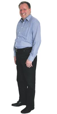 Felix Moser de Wila avant de perdre du poids avec ParaMediForm