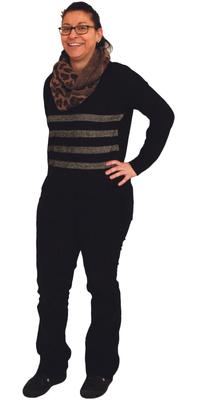 Rosalba Puntillo de Turbenthal avant de perdre du poids avec ParaMediForm
