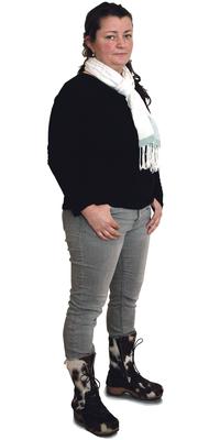 Siân Sprenger de Bubikon avant de perdre du poids avec ParaMediForm