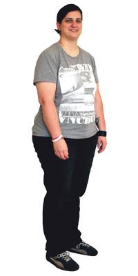 Maya Nauer de Wetzikon avant de perdre du poids avec ParaMediForm
