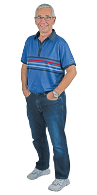 Kurt Marty aus Wetzikon nach dem Abnehmen mit ParaMediForm